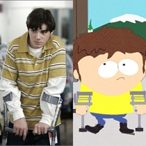 I just realized that Walter Jr from Breaking Bad is a grown up Jimmy from South Park