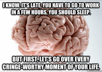 I just want to go to sleep mind-bro