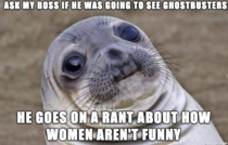 I just wanted to know whether or not he was going to see the movie