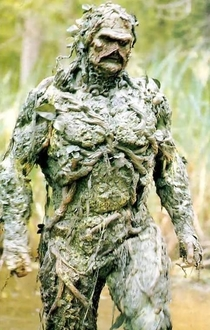 I keep watching the Rio Olympics hoping to see Swamp Thing tear shit up
