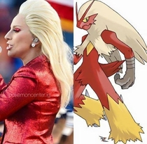I knew Lady Gaga looked familiar yesterday