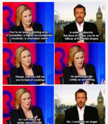 I know its old but everyone should see this One of my favourite British people as a British person