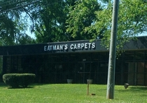 I laugh like a  year old boy every time I drive by this storefront
