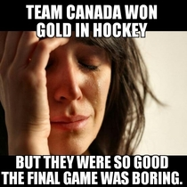 I love Canada but I also love an exciting game of hockey