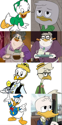 I love how everyone is dead inside in the new Ducktales Millenials amiright
