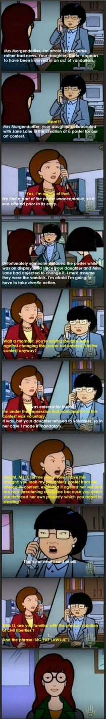 I miss Daria Sorry for the painful text