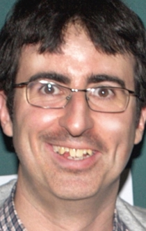 I miss John Oliver from when he had bangs and British teeth