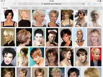 I need a haircut I googled womens short haircuts for ideas One stood out