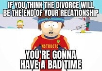 I noticed a commonality among my divorced friends and just wanted to give a heads up