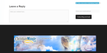 I noticed a familiar face on this Christianminglecom banner