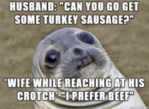 I overheard an elderly couple at Wal-mart today