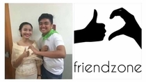 I present to you the official friend zone logo