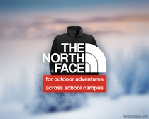 I proudly support this as a The North Face wearer