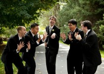 I raise you my husbands groomsmen reacting to his ring