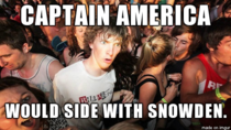 I realised this while watching The Winter Soldier