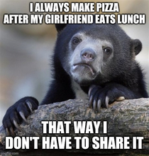 I really dont like to share