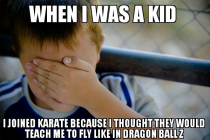 I really liked dragon ball z