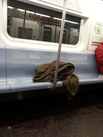 I saw Obi Wan Kenobi in the metro