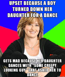 I saw this meme reminded me of my sister when she chaperoned a dance last year