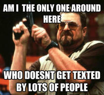 I see lots of people everyday get texted by more friends simultaneously