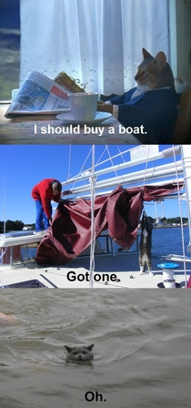 I should buy a boat the trilogy