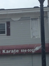 I should take lessons at this karate studio