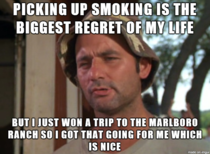 I still hate smoking