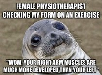 I swear to god it was because of exercises from a previous injury