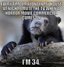 I think I beat The Conjuring confession bear