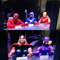 I think I downloaded the wrong Avengers