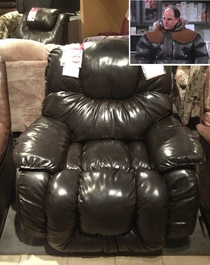 I think I found the recliner version of Georges puffy coat