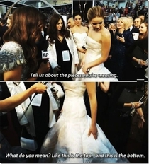 I think I understand the internets love of Jennifer Lawrence