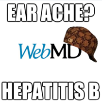 I think im done with webMD