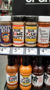 I think these barbeque rubs want me to spice up more than my food