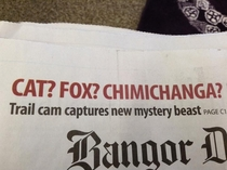 I think they meant chupacabra