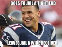 I think we all know whats going to happen to Aaron Hernandez