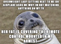 I told her it was because I wasnt interested in any of the channels