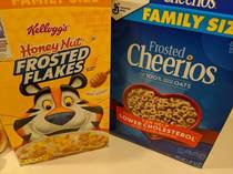 I told my wife to get frosted flakes and honey nut Cheerios