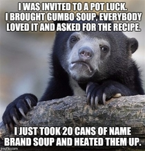 I told them it was a family recipe