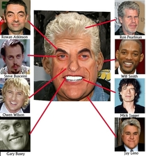I took the wildest features of famous men and mushed them all into one guy Im pretty proud of the result