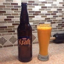 I tried making this Kraft beer everyone is talking about I dont see the hype