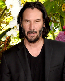 I used FaceApp to age Keanu Reeves