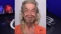 I was browsing my local news when I came across this incredible mugshot
