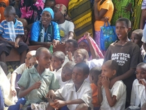 I was doing some charity work for a school in a little African village