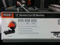 I was looking for a new saw at Home Depot and realized there was a tool named for my ex-wife