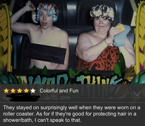 I was looking for a shower cap and came across this review