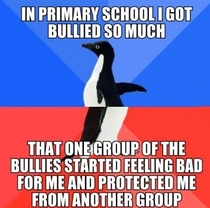 I was the most bullied person in my school