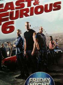 I was unpacking the posters for the new Fast and Furious release today at work didnt realise how small Dwayne Johnson was compared to Vin