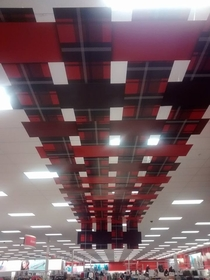 I was walking into Target when Spaceball One flew overhead
