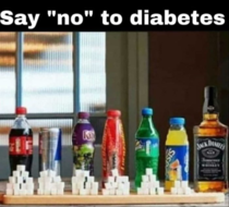 I wont have diabetes at all